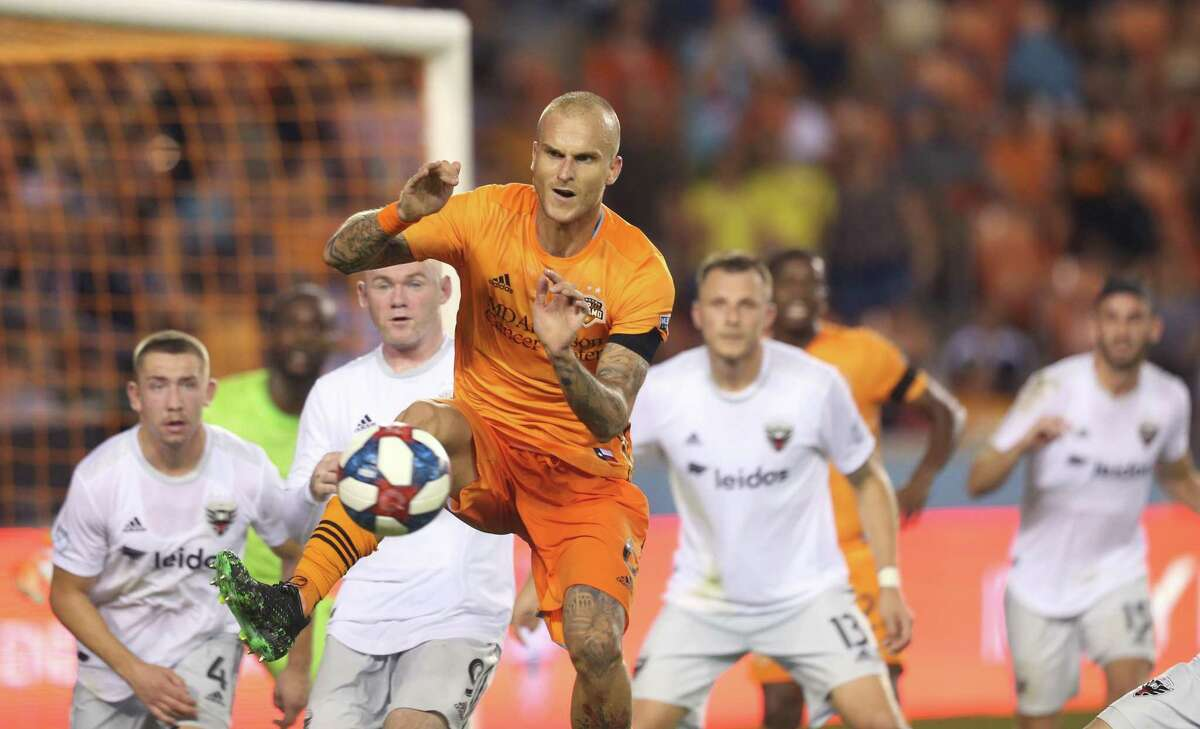 Dynamo defender Aljaz Struna had knee surgery last week but will have extra time to rehab before MLS resumes play.