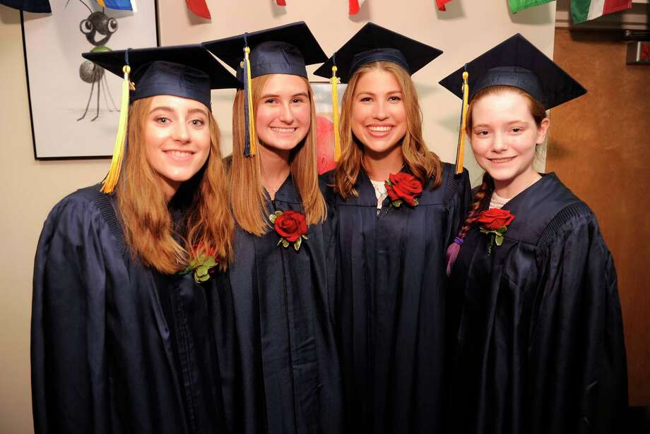 King School Class of 2019 commencement exercises on May 31, 2019 in Stamford, Connecticut. Photo: Matthew Brown, Hearst Connecticut Media / Stamford Advocate
