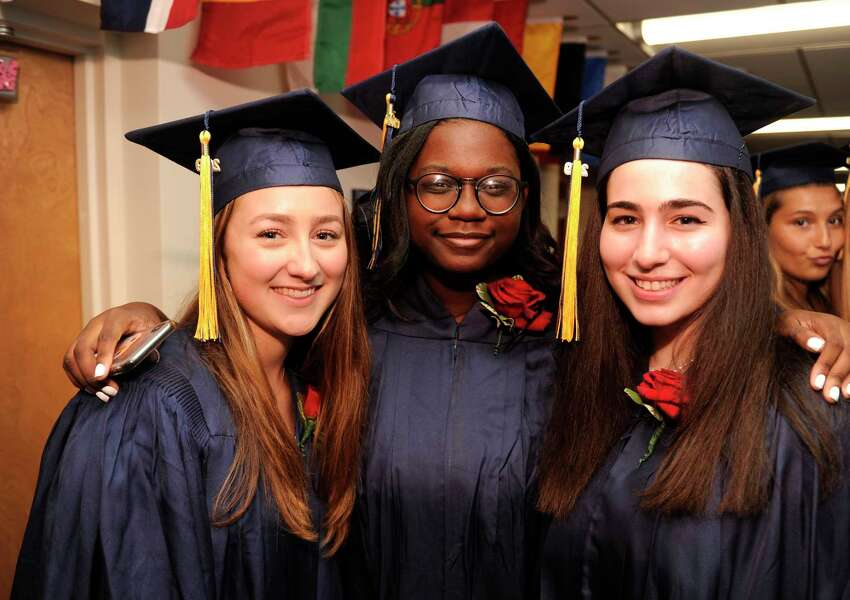 King School Class of 2019 commencement exercises on May 31, 2019 in Stamford, Connecticut.