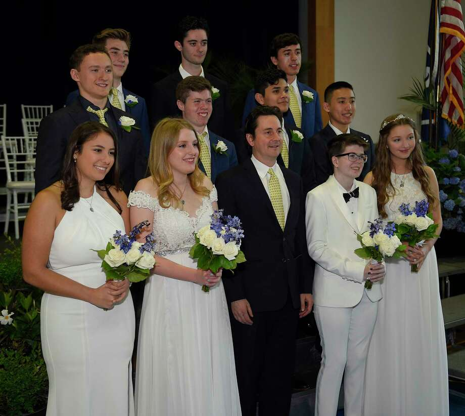 The Stanwich School Class of 2019 graduation ceremony on May 31, 2019 in Greenwich, Connecticut. Photo: Matthew Brown, Hearst Connecticut Media / Stamford Advocate