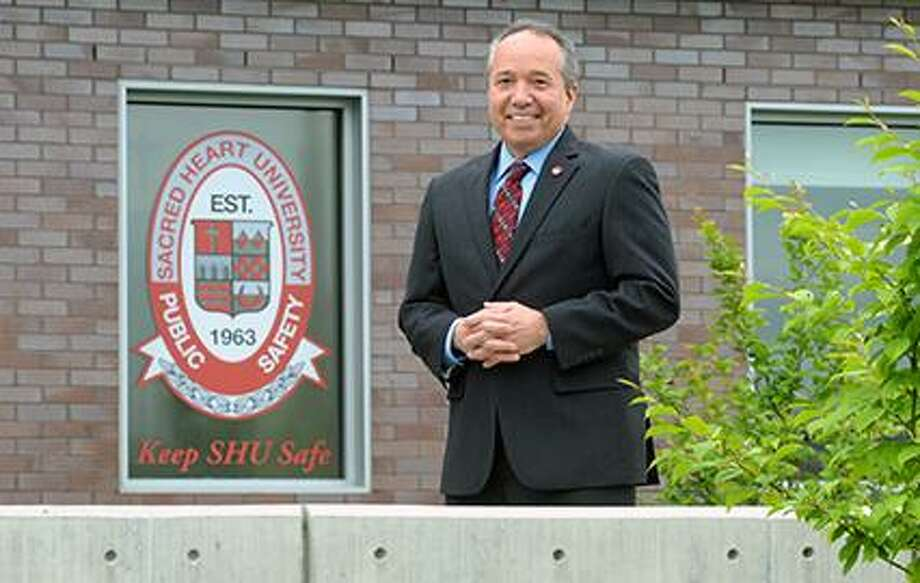 Edward Shea, of West Haven, Conn., has been promoted to deputy chief of public safety at Sacred Heart University. Photo: Contributed Photo / Tracy Deer-Mirek / © Sacred Heart University 2019