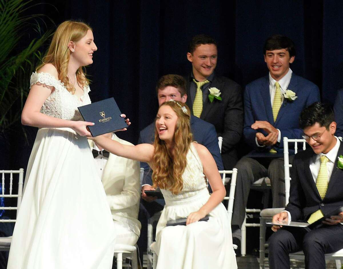 The Stanwich School Class of 2019 graduation ceremony on May 31, 2019 in Greenwich, Connecticut.