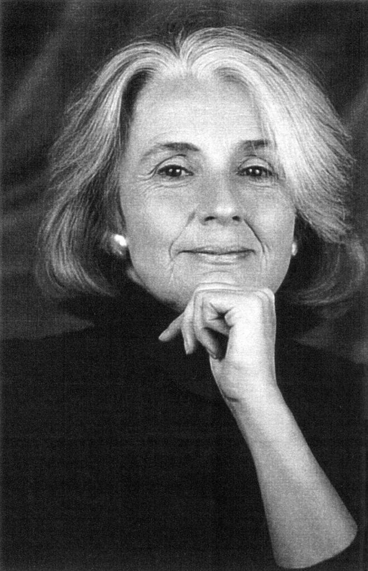 Poet Susan Kinsolving will read at the Gunn Memorial Library, Washington, on June 23.