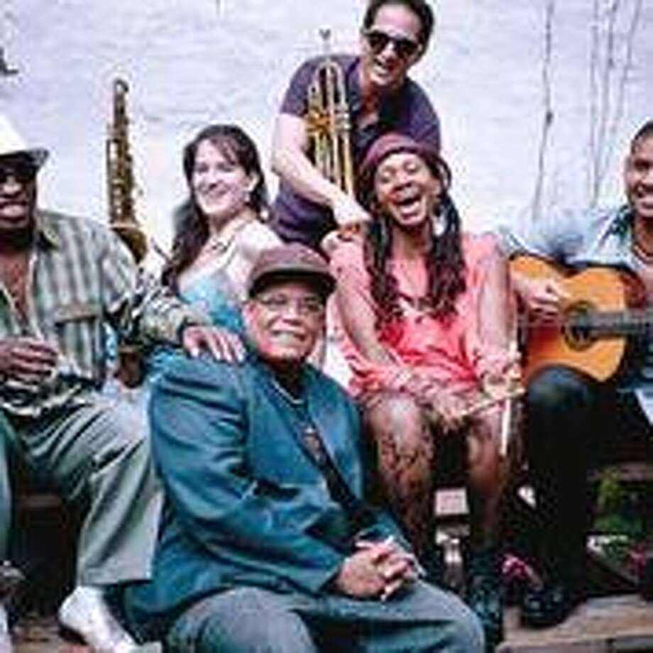 The Gabriel Alegria Sextet performs at Music Mountain on June 15. Photo: Contributed Photo /