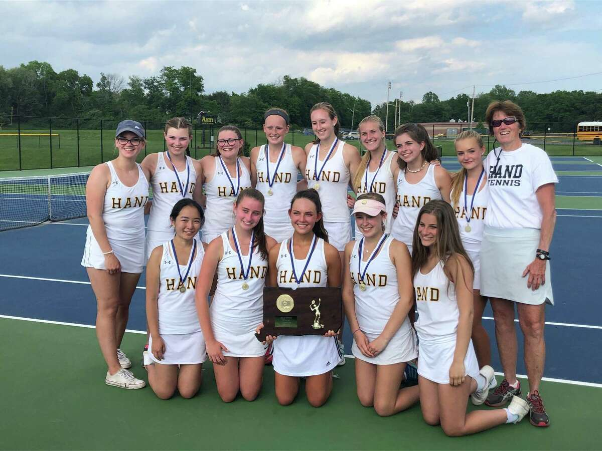 Hand defeated Lauralton Hall to win its second Class M state title in three years Friday.