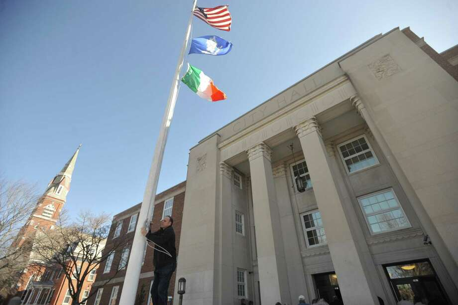 Torrington City Hall. Photo: Ben Lambert / Hearst Connecticut Media /