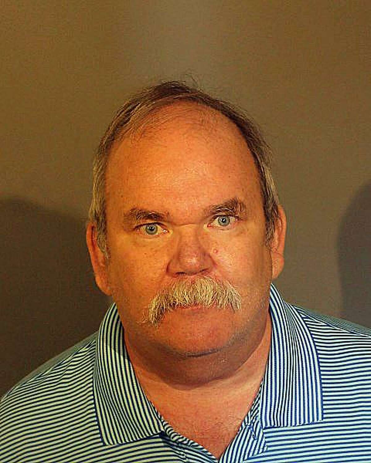 Kevin Hassan, 60, of Stamford, Conn., was charged with three counts of fourth-degree sexual assault, three counts of breach of peace and first-degree criminal trespass.