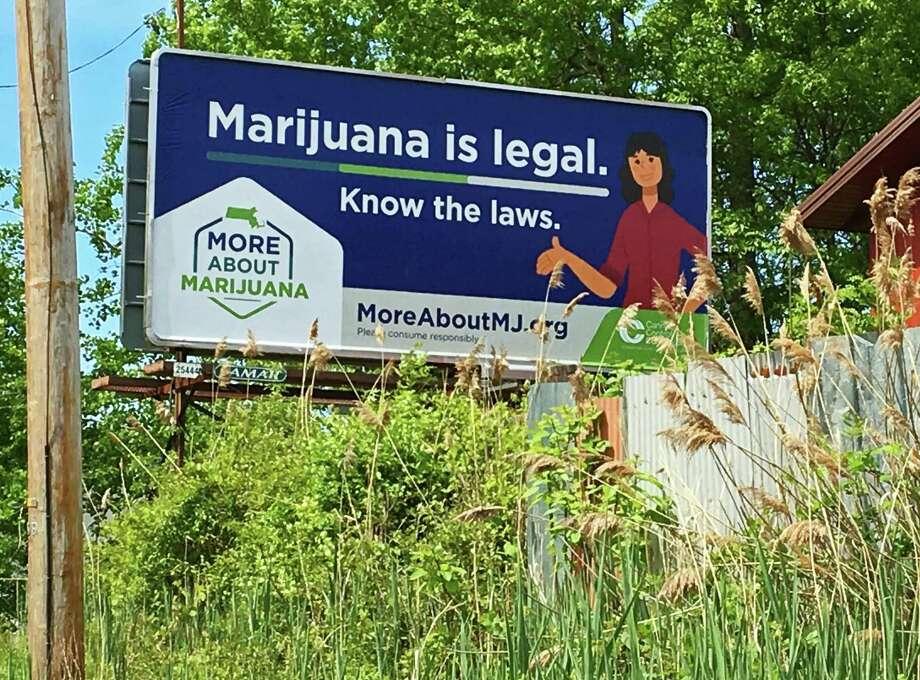 A billboard in Northhampton, Mass. Photo: Ken Dixon / Hearst Connecticut Media