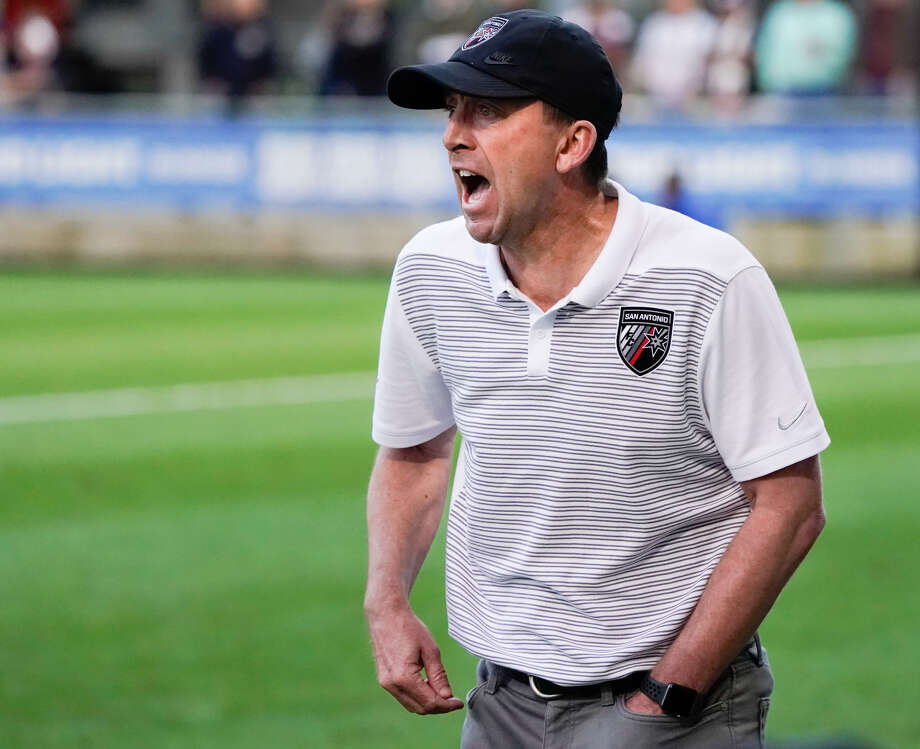 San Antonio FC coach Darren Powell and his team are scheduled to play Cardiff City FC on July 13 at Toyota Field. Photo: Darren Abate/Contributor