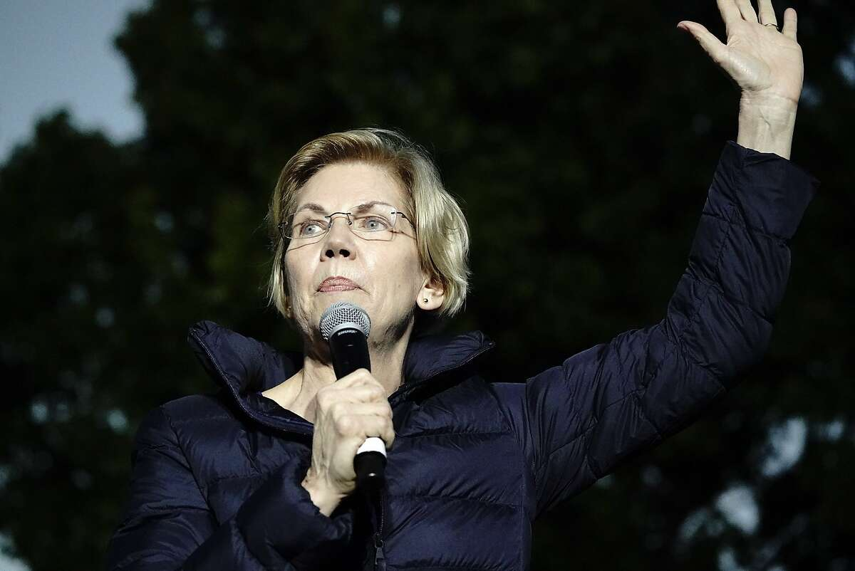 Senator Elizabeth Warren (D-Mass.) holds a town hall event at Laney College on Friday, May 31, 2019, in Oakland, CA.