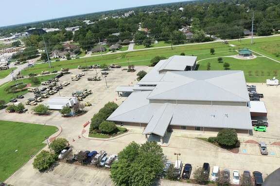 The Dayton Community Center was the epicenter for recovery following Hurricane Ike hosting the military and various federal agencies who assisted residents. The $14 million facility is 30,000 square feet and is the home for regular meetings like the Rotary Club and Chamber of Commerce as well as the city library.
