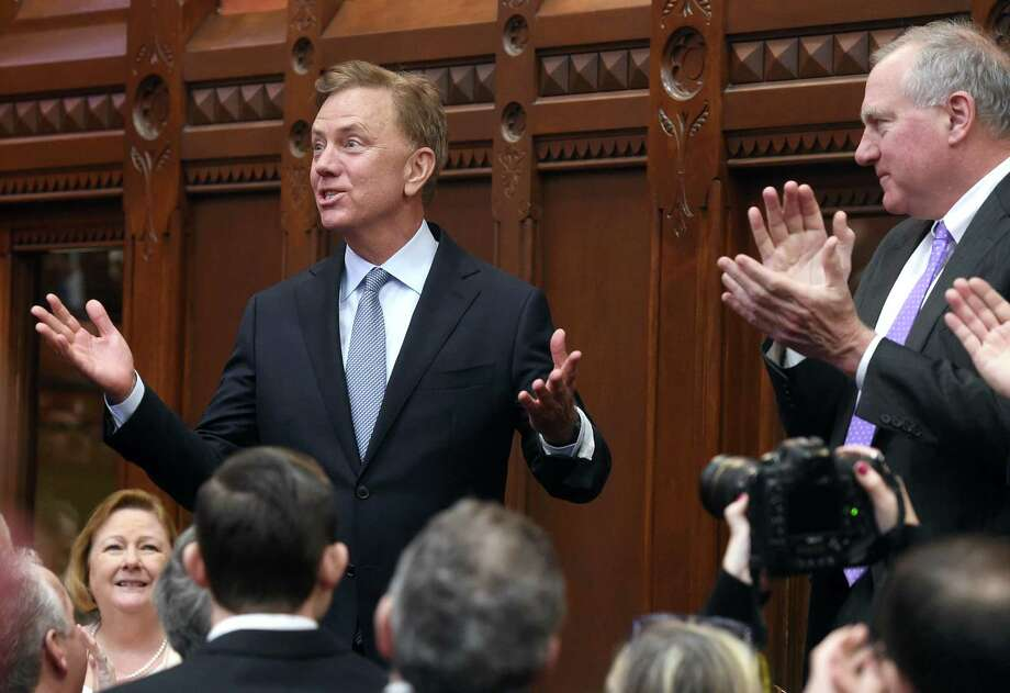 Governor Ned Lamont, in a file photo taken last year in the historic hall of the House of Representatives. Photo: Arnold Gold / Hearst Connecticut Media / New Haven Register