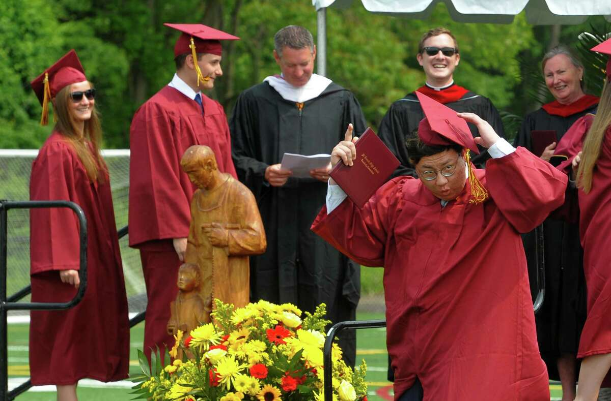 St. Joseph's Commencement Exercies in Trumbull, Conn., on Saturday June 1, 2019.