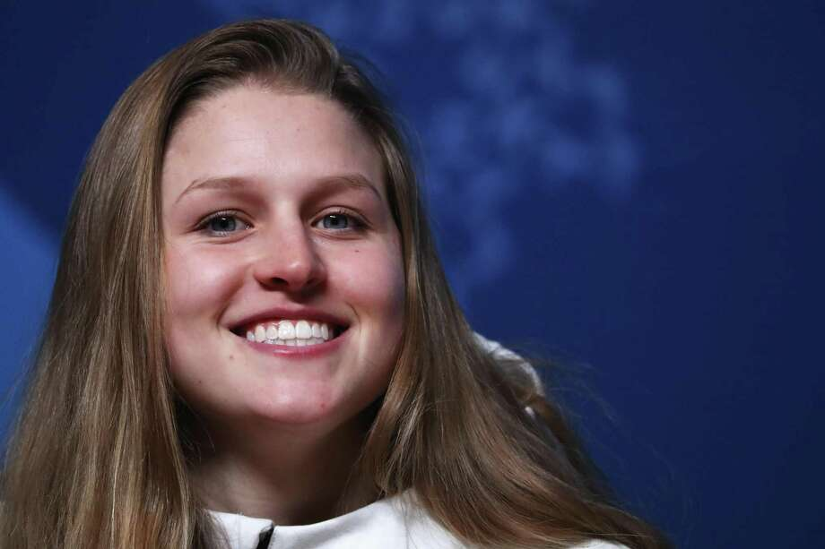 PYEONGCHANG-GUN, SOUTH KOREA - FEBRUARY 06: United States snowboarder Julia Marino attends a press conference at the Main Press Centre during previews ahead of the PyeongChang 2018 Winter Olympic Games on February 6, 2018 in Pyeongchang-gun, South Korea. (Photo by Ker Robertson/Getty Images) Photo: Ker Robertson / Getty Images / 2018 Getty Images 2018 Getty Images