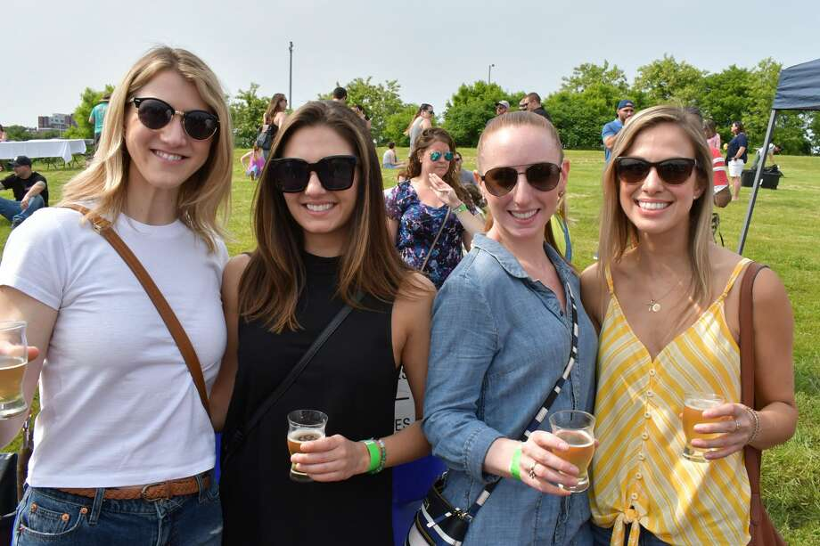The 6th annual Ninety9Bottles Craft Beer Festival was held at Oyster Shell Park in Norwalk on June 1, 2019. Festival goers enjoyed samples of more than 75 craft beers; some old favorites and new to the Connecticut market. Were you SEEN? Photo: Vic Eng / Hearst Connecticut Media Group