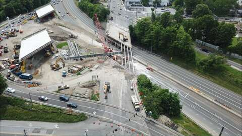 Traffic better than expected as construction closes I-95