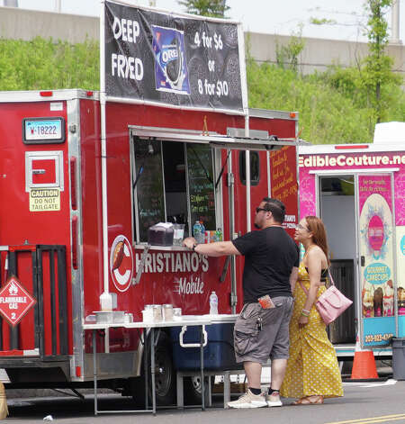 Riverfront Food Truck Festival, Hartford Over 10 different food trucks will participate in this year's Riverfront Food Truck Festival on Friday and Saturday. Find out more. Photo: Kaylah Gore