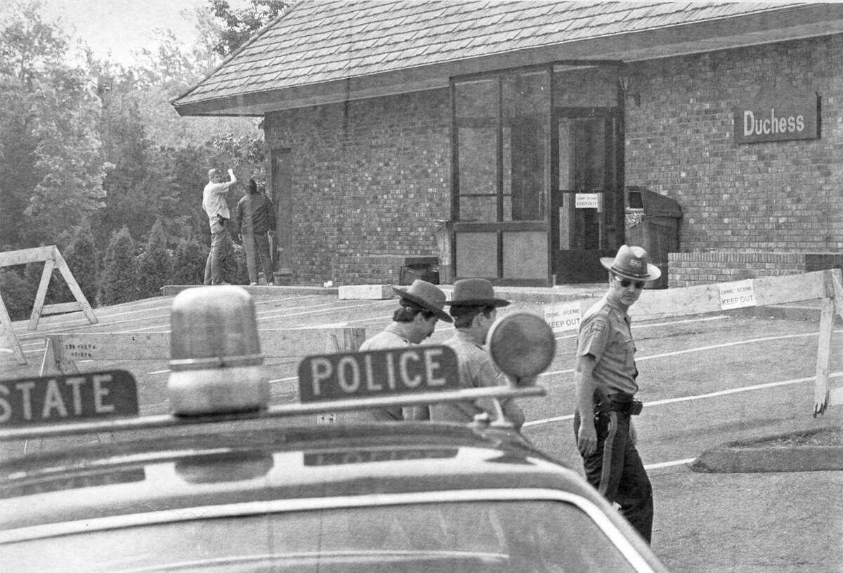 The crime scene - Duchess restaurant - where Darien Police Officer Kenneth Bateman was slain during a burglary in 1981.