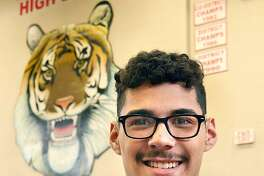 After setting the city record in the 800-meter run in his senior season, Martin's Miguel Escamilla signed his National Letter of Intent to run track & field at UTRGV.