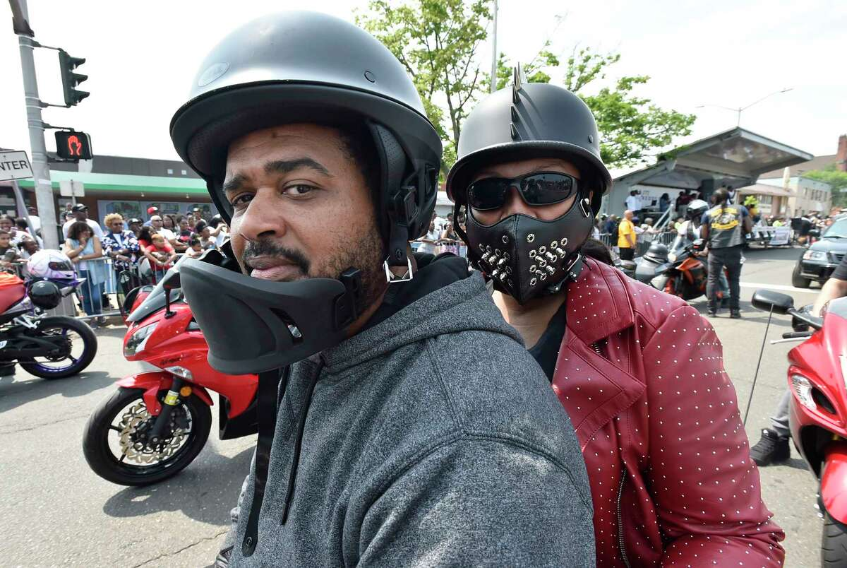 New Haven, Connecticut - Sunday, June 2, 2019: The 55th annual Elm City Freddy Fixer Parade Sunday afternoon along Dixwell Avenue in New Haven. The parade was founded in 1962 and is nationally recognized as the oldest Black American parade in the Northeast, say organizers. The theme of this year?•s parade is ?'Our Village Legacy.?