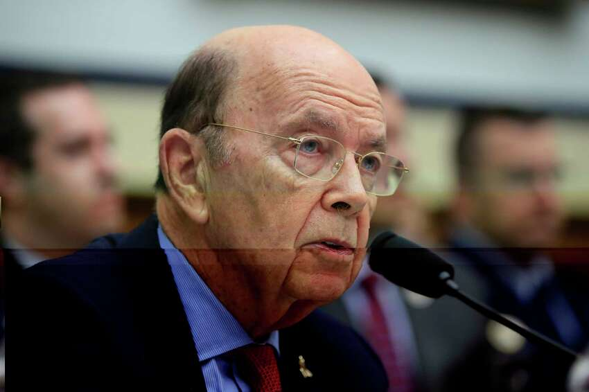 FILE - In this June 22, 2018, file photo, Commerce Secretary Wilbur Ross, testifies on Capitol Hill in Washington. Democratic lawmakers want Ross to clarify where a citizenship question on the 2020 census originated after newly released documents show he was seeking such a question early in Donald Trump?s presidency. (AP Photo/Manuel Balce Ceneta, File)