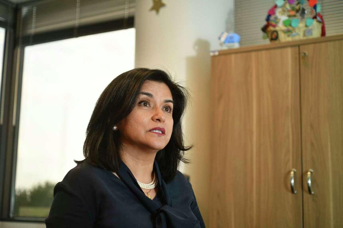 Lourdes Castro-Ramirez, is the president of the University Health System Foundation and former SAHA head.