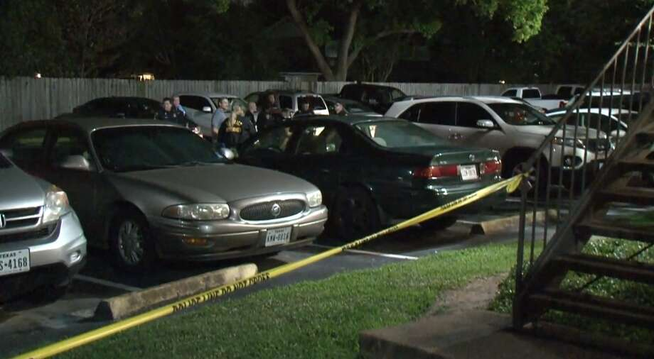Police investigate whether intoxication played a role in a collision Sunday, June 2, that killed a 2-year-old child at a southeast Houston apartment complex. Photo: Metro Video