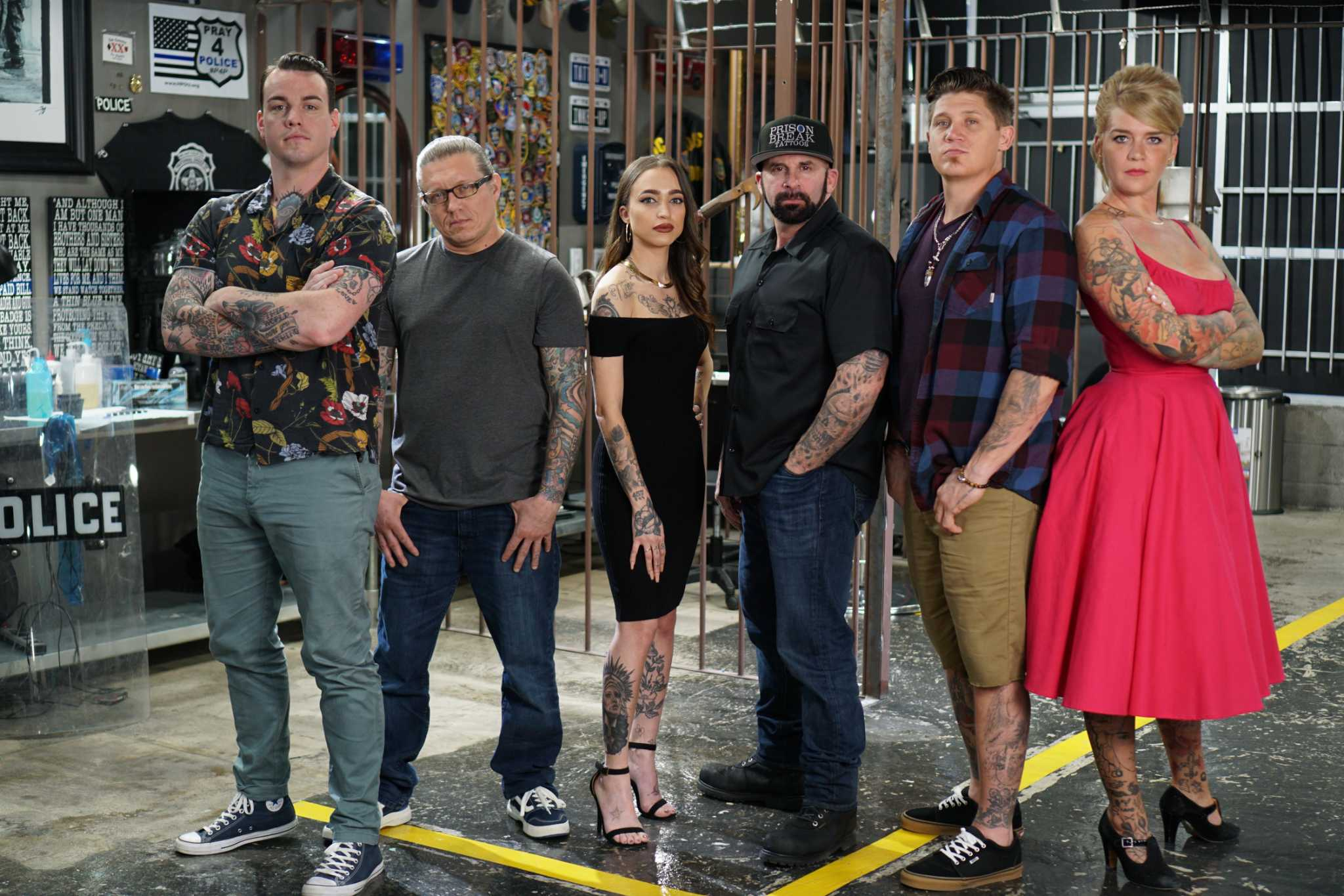 Houston tattoo shop gets its close-up in A&E's 'Hero Ink'