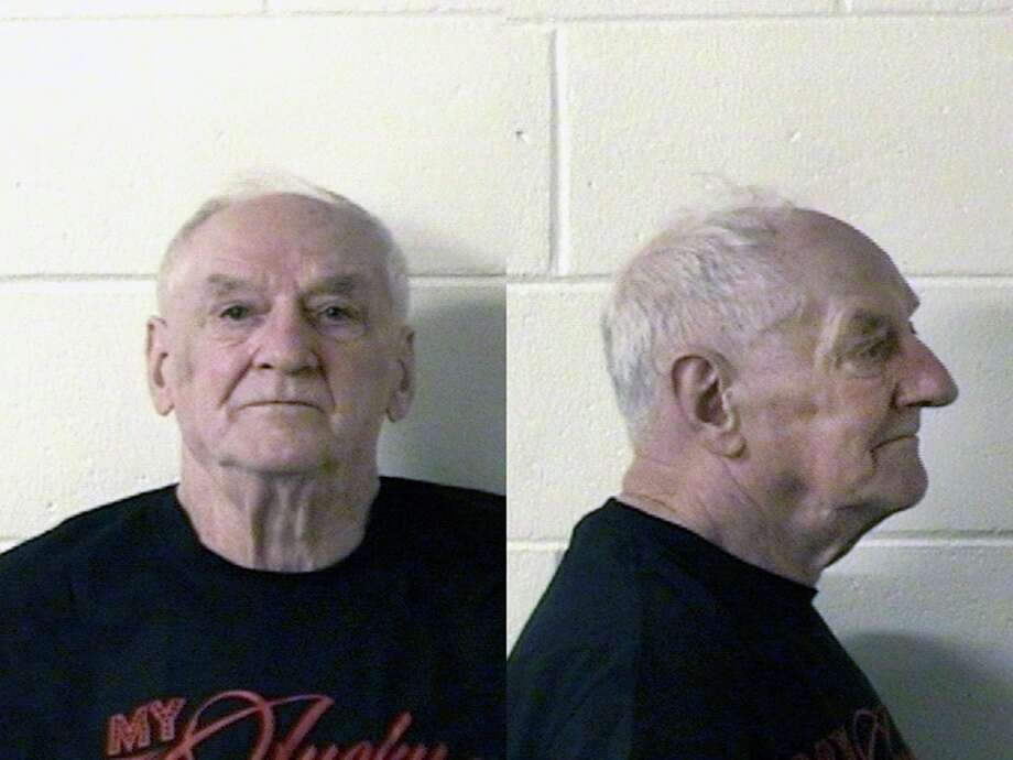 Ray Vannieuwenhoven, 82, has been charged with two counts of first-degree murder and one count of first-degree sexual assault in the deaths of David Schuldes, 25, and Ellen Matheys, 24, in 1976. Photo: Marinette County Jail/AP