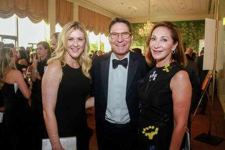 EMBARGOED FOR SOCIETY REPORTER UNTIL JUNE 3 Lauren Alff, from left, with Scott and Soraya McClelland at the Leukemia & Lymphoma Society's Man and Woman of the Year Gala.