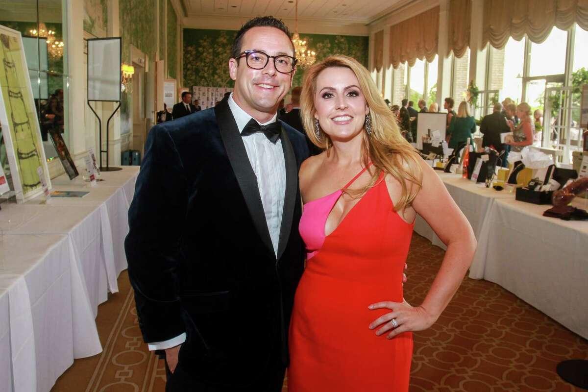Jeff and Amanda Malone at the Leukemia & Lymphoma Society's Man and Woman of the Year Gala.