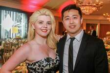 EMBARGOED FOR SOCIETY REPORTER UNTIL JUNE 3 Jordan Freeman and Jeff Lou at the Leukemia & Lymphoma Society's Man and Woman of the Year Gala.