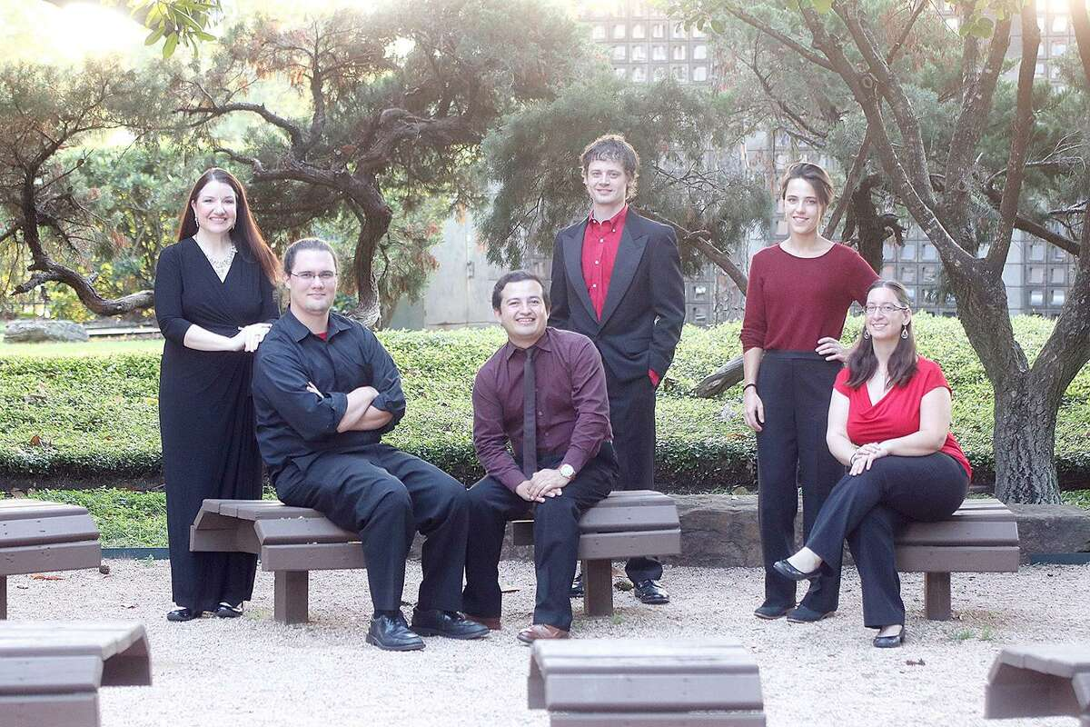 Performers with the Houston New Arts Movement