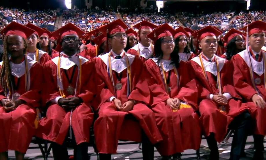 Westfield High School celebrates their graduation at the Berry Center on Sunday, June 2. Photo: Courtesy Of Spring ISD
