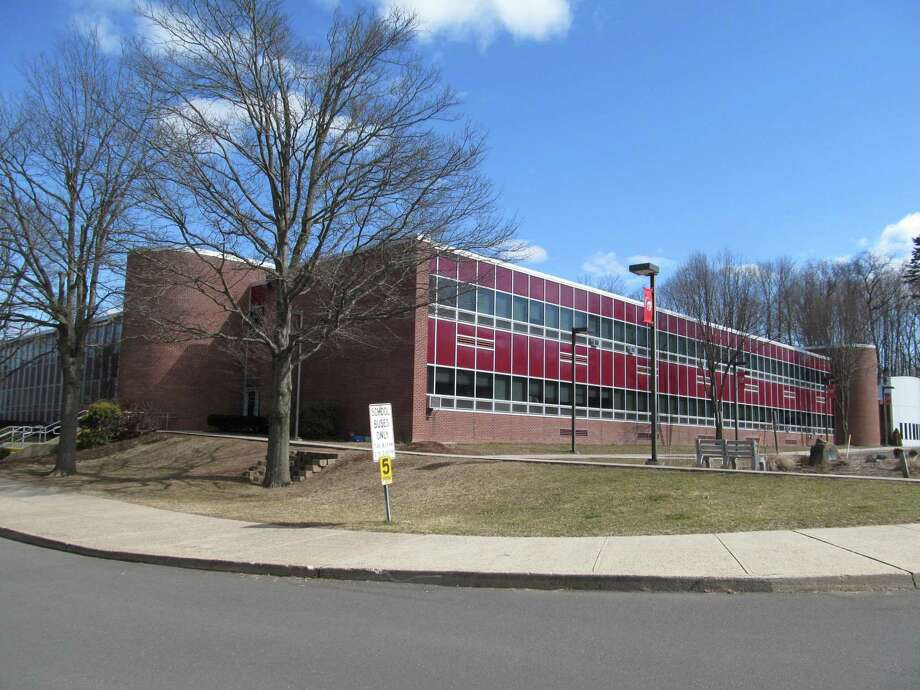 An undated exterior photo of Dodd Middle School in Cheshire. Photo: Hearst Connecticut Media File