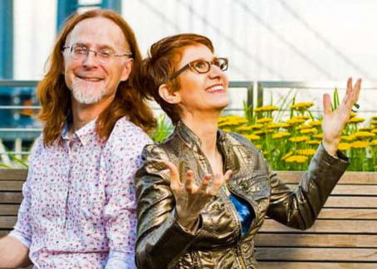 Pat Wictor and Deborah Latz will perform genre-bending improvisational takes on Phil Ochs, Ornette Coleman, The Beatles, Irving Berlin, as well as perform original compositions, at Voices Cafe at The Unitarian Church in Westport June 8.