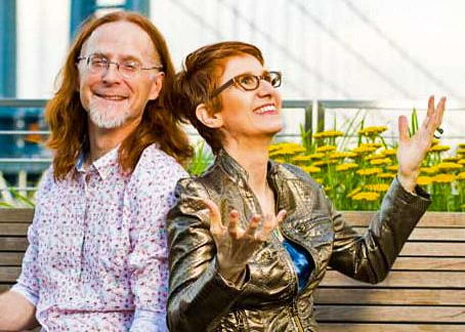 Pat Wictor and Deborah Latz will perform genre-bending improvisational takes on Phil Ochs, Ornette Coleman, The Beatles, Irving Berlin, as well as perform original compositions, at Voices Cafe at The Unitarian Church in Westport June 8. Photo: Voices Cafe / Contributed Photo