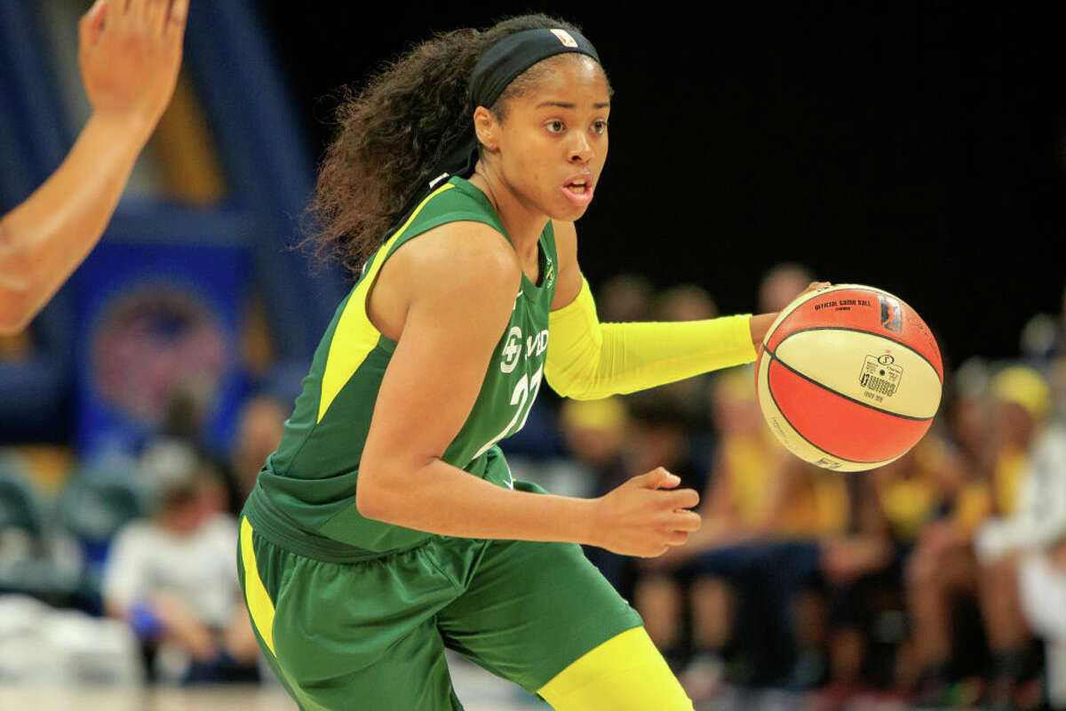 1. Jordin Canada has improved, but she's still streaky As a second-year guard, Canada was forced to take a much bigger role this season with the absence of Sue Bird. So far, she's done well: the former UCLA star is averaging 11.5 points and 5.8 assists per game. She's been a big contributor on defense as well, with her 3.5 steals per contest leading the entire WNBA. That said, Canada still struggles with consistency. In both of Seattle's losses this year, she's shot under 35 percent from the field. That number is fed by occasionally sketchy shot selection, which leads into Canada's other big weakness: turnovers. She's averaging 3.8 giveaways per game - a stat that will need to improve to keep Seattle competitive. Overall though, Canada's leap from backup to starter has been a success. If she continues to improve, so will the rest of the team.