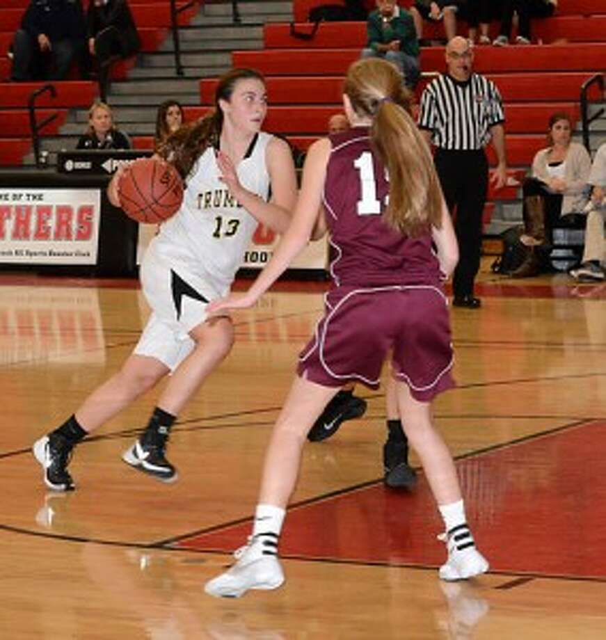 The Trumbull High girls varsity basketball team will play St. Joseph at 6 p.m. in the lidlifter of the 9th annual Officials vs Cancer fundraiser at Fairfield University on Saturday, Jan. 9. — Andy Hutchison photo