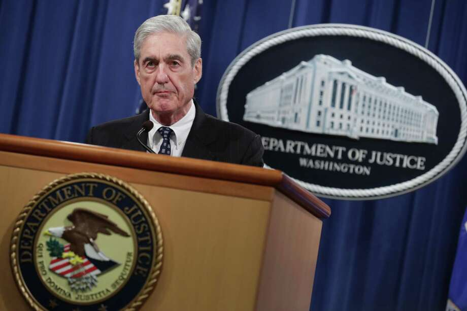 Special Counsel Robert Mueller makes a statement about the Russia investigation on May 29, 2019 at the Justice Department in Washington, DC. Photo: Chip Somodevilla / Getty Images / 2019 Getty Images