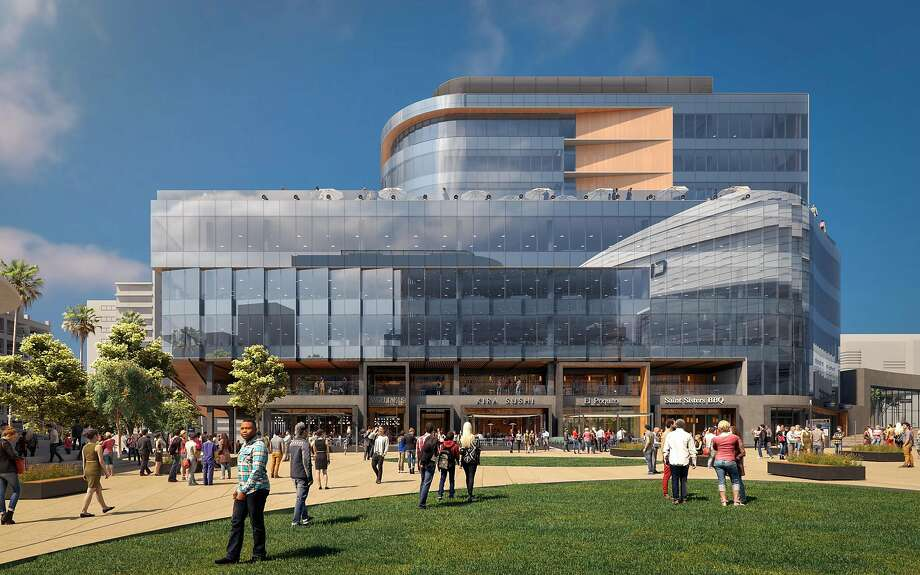 A rendering of Thrive City. Photo: Golden State Warriors