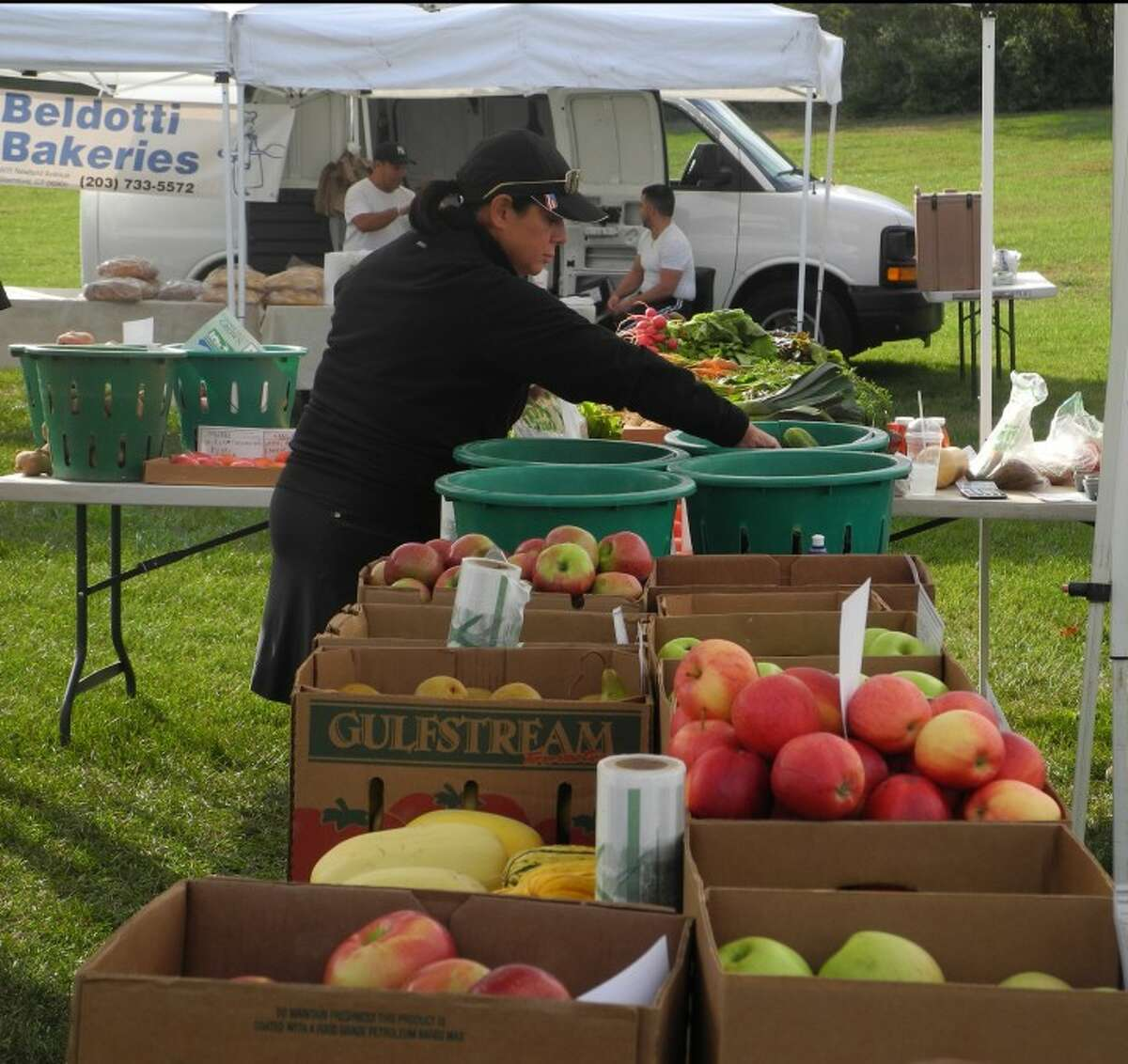It's apple season, and the Trumbull Farmers Market has all the freshest produce from around the state.
