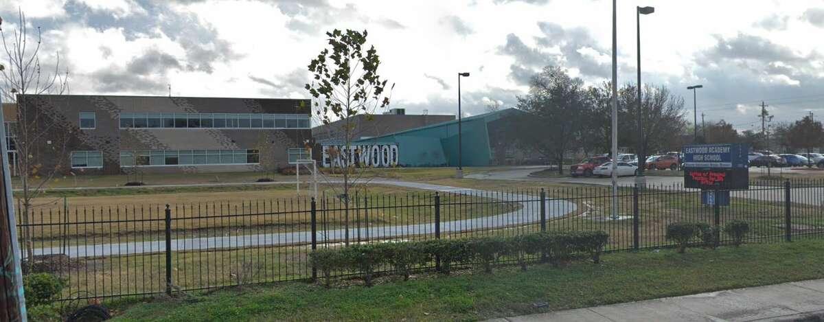Eastwood Academy (Houston ISD) Houston Metro ranking: 3National ranking: 97Graduation rate: 100%Enrollment: 427
