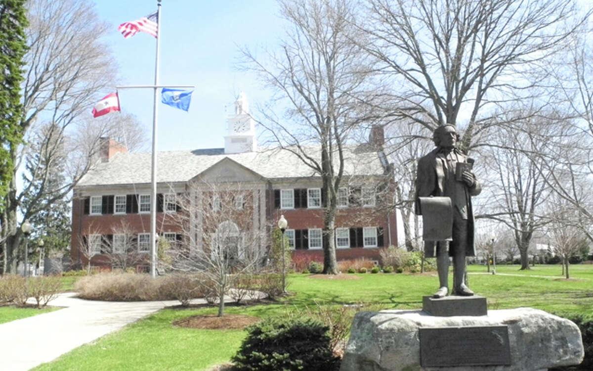 Trumbull Town Hall.