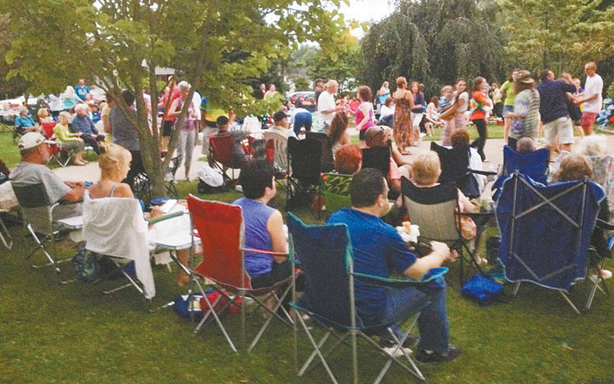 The free summer concerts at the town hall gazebo have been a popular spot for many to either dance or simply relax and enjoy the music.