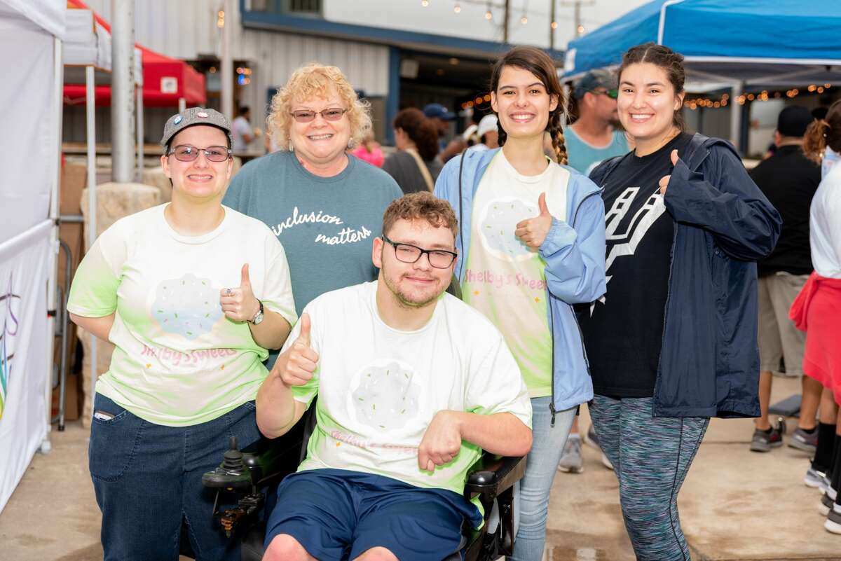 Icing and inclusion are both ingredients in the recipes used by Shelby's Sweets, a local business with Natalia Jasso (second from right) and Shelby Struxness (far left) at the helm who are working to offer meaningful job training for people with disabilities.