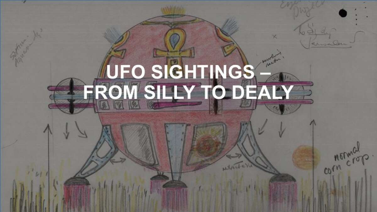 Check out these sighting of unidentified flying objects. >>>