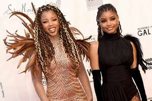 SANTA MONICA, CA - JUNE 01:  Chloe x Halle arrive at the WACO Theater Center's 3rd Annual Wearable Art Gala at The Barker Hangar at Santa Monica Airport on June 1, 2019 in Santa Monica, California.  (Photo by Gregg DeGuire/Getty Images)
