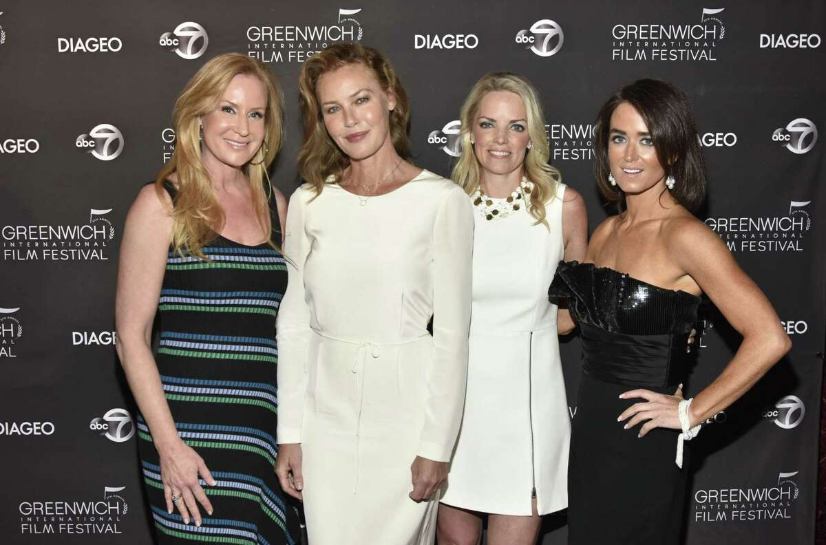 PT CHESTER, NEW YORK - JUNE 01: Colleen deVeer, Connie Nielsen, Ginger Stickel and Wendy Stapleton attend The Greenwich International Film Festival Epic Anniversary Party Featuring Kesha And Jessie's Girl at The Capitol Theatre on June 01, 2019 in Port Chester, New York. (Photo by Eugene Gologursky/Getty Images for Greenwich International Film Festival )