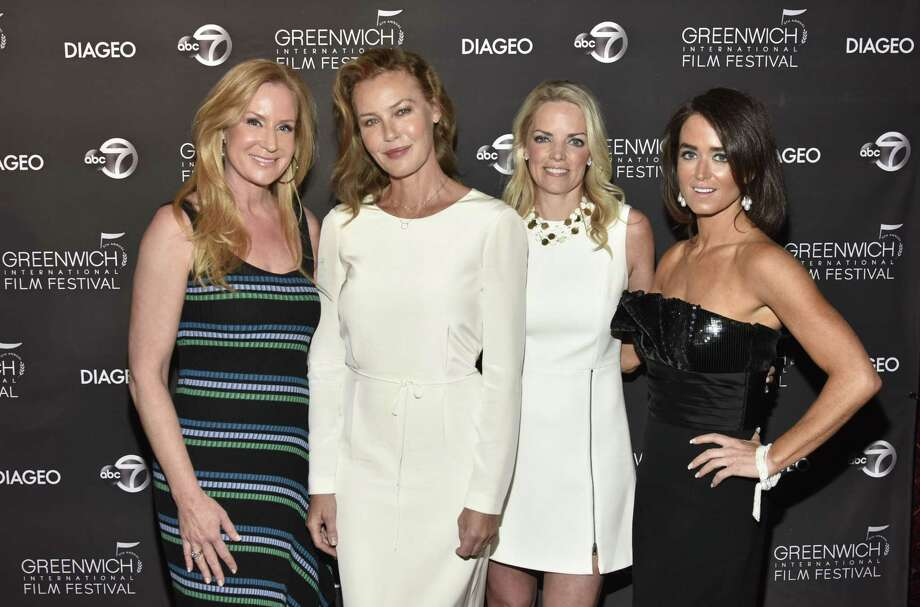 PT CHESTER, NEW YORK - JUNE 01: Colleen deVeer, Connie Nielsen, Ginger Stickel and Wendy Stapleton attend The Greenwich International Film Festival Epic Anniversary Party Featuring Kesha And Jessie's Girl at The Capitol Theatre on June 01, 2019 in Port Chester, New York. (Photo by Eugene Gologursky/Getty Images for Greenwich International Film Festival ) Photo: Eugene Gologursky / Getty Images For Greenwich International Film Festival / 2019 Getty Images